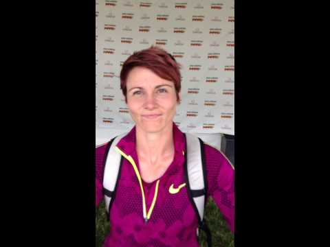Kathryn Mitchell post-competition interview