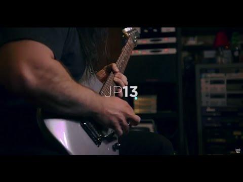 John Petrucci demos his Ernie Ball Music Man JP13