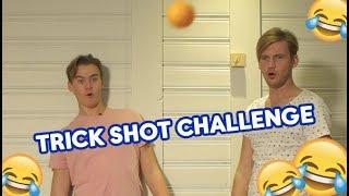 William Segerdahl och Bragi Bergsson gör en trick shot challenge - Idol Sverige (TV4)