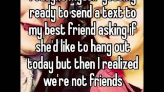 Best friend break ups quotes