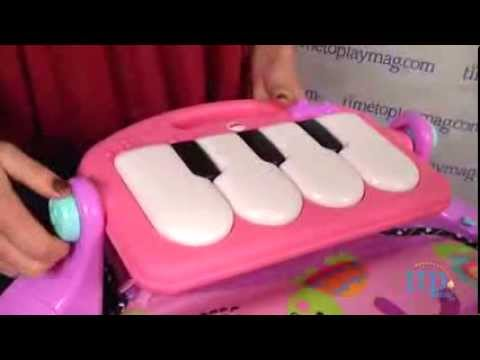 Discover N Grow Kick & Play Piano Gym Pink From Fisher-Price