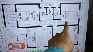 30x45 HOUSE PLAN DETAILS
