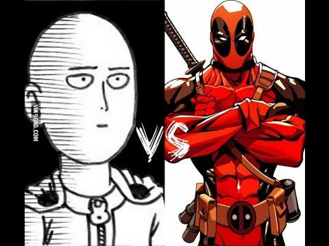 Download DJ Reacts to DEADPOOL vs ONE PUNCH MAN (SAITAMA)! Cartoon Fight Club Episode 72