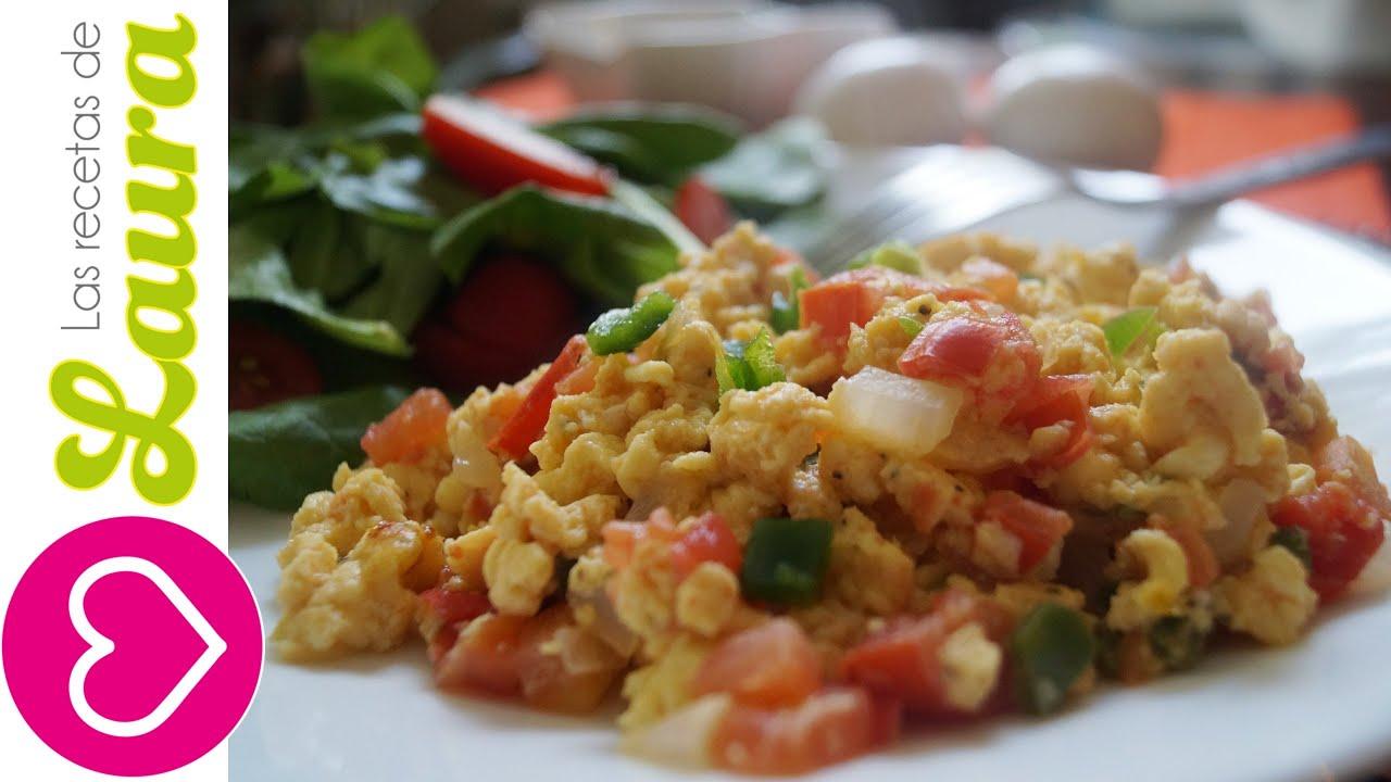 Desayunos saludables huevo a la mexicana sin grasa for Almuerzos faciles de preparar