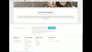 Créer une page CMS avec Prestashop 1.7