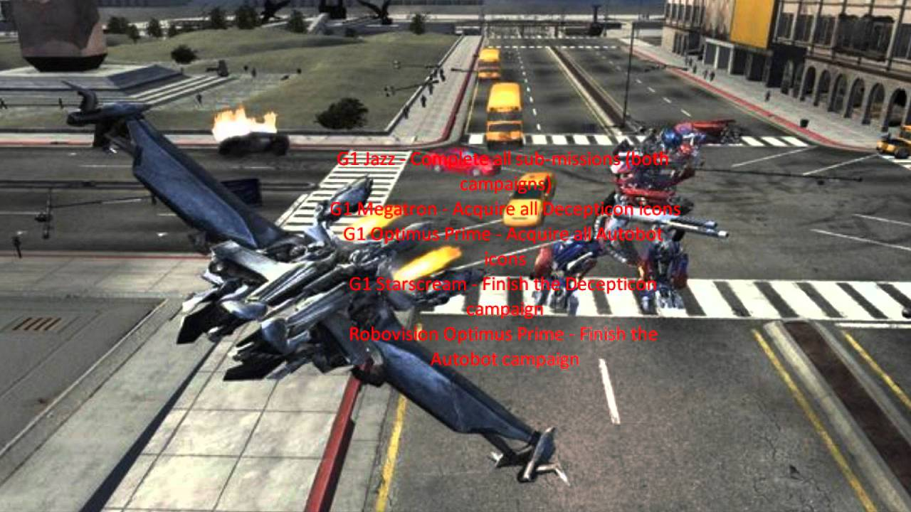 Transformers The <b>Game Cheats PS3</b> And XBOX 360 - YouTube