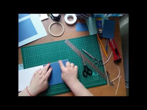 видео: Открывающаяся подложка под фотографию мк