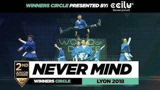 Never Mind I 2nd Place Junior Division I Winners Circle I World of Dance Lyon 2018 I #WODFR18