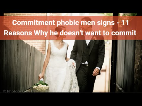 Guys and commitment issues