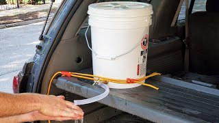 Mobile Hand Washing Station (How to Build At Home)