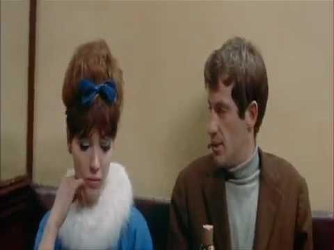 Belmondo proves he loves Anna Karina  A woman is a woman, Godard
