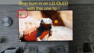 This one tip Will prevent burn in on your LG OLED  !
