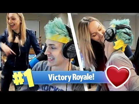 Ninja's Wife Dances with Him After Fortnite Win!  Fortnite Best Moments 23