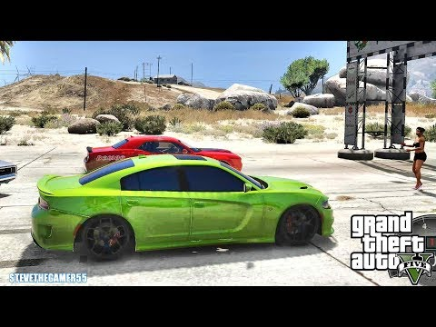 GTA 5 REAL LIFE MOD #582 - HELLCAT VS EVERYTHING!!! (GTA 5 REAL LIFE MODS) thumbnail