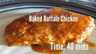 Baked Buffalo Chicken Recipe