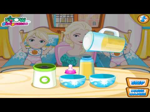 Frozen Baby Games - Bebês Gêmeos - Baby Twins Frozen Elsa - Juego