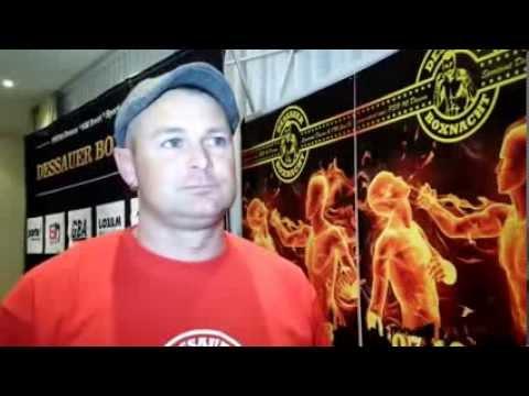 Dessauer Boxnacht 2013 - Pressekonferenz: Enrico Schnurre