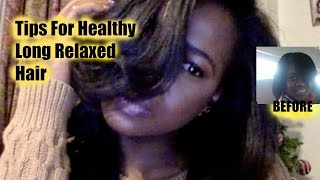 11 Daily Tips to Grow Healthy Relaxed Hair