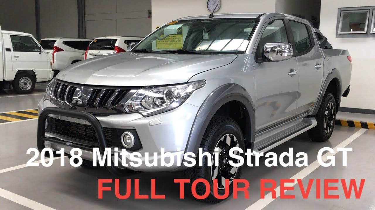 2017 Mitsubishi Strada GT 2.4L 6SPD 4WD FULL TOUR REVIEW