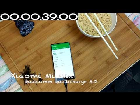 Xiaomi Mi Mix - Fast Charging Test