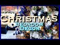 Christmas Bedroom Decor | Blue & Gold Christmas Decor | Collab with Kenyas Decor Corner