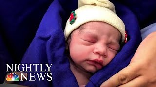 First Baby Born Using Uterus From Deceased Donor | NBC Nightly News