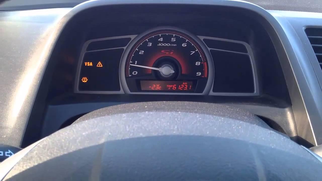 2006 Honda Odyssey Vsa Warning Light Stays On
