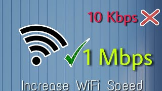 How to increase wifi internet speed in your android device