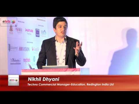 Elets' 7th World Education Summit 2016 - Improving Efficiency, Operation & ROI - Nikhil Dhyani...