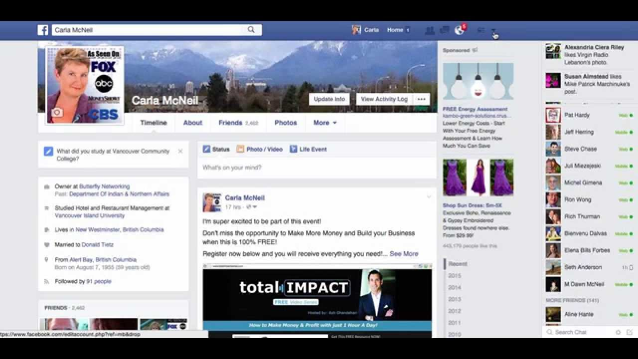 how to make a youtube page on facebook