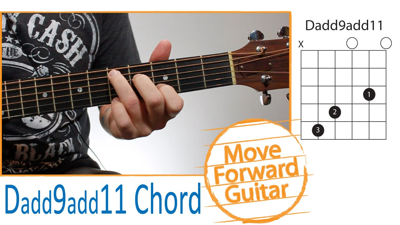 Guitar Chords For Beginners Dadd9 Add11 Youtube