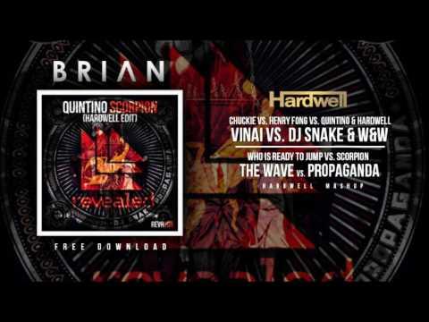 Who Is Ready To Jump vs. Scorpion vs. The Wave vs. Propaganda (Hardwell Mashup) [KARIOKO Remake]