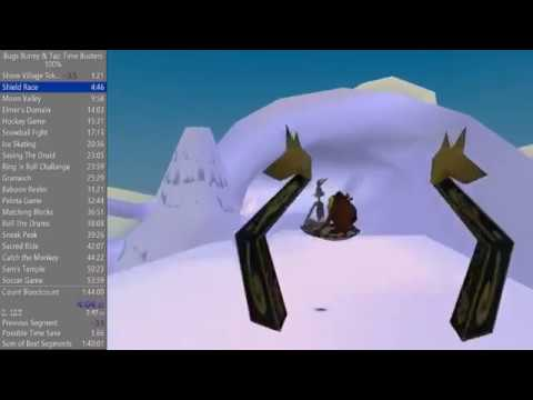 Bugs Bunny & Taz Time Busters 100%- 1:42:35 WR