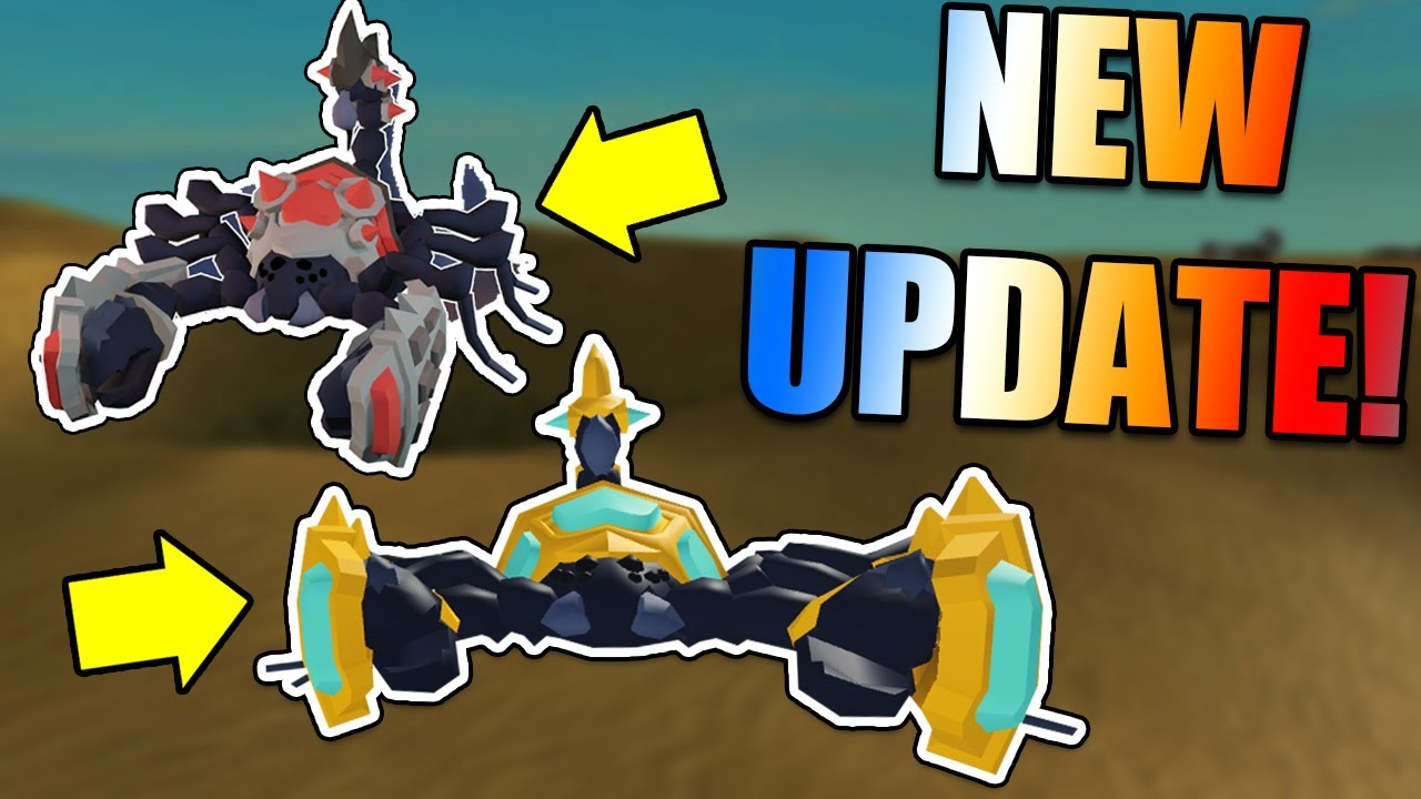 NEW UPDATE! - Skorp Mob, Potion Brewing, Desert Island and New Weapons! Roblox Islands Update