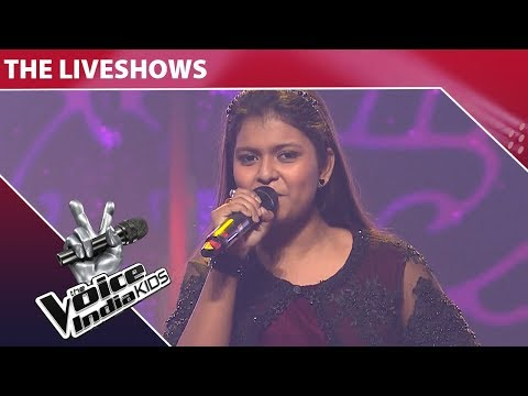 Niharika Performs on Nagada Sang Dhol  The Voice India Kids  Episode 16