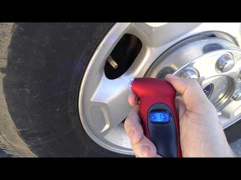 (:Review:) Red 100PSI Digital Tire Gauge ~Sold By Many Companies on Amazon/ebay