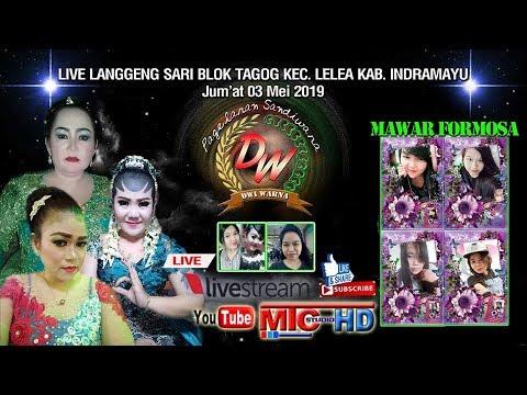 LIVE SANDIWARA   DWI WARNA   LANGGENG SARI - LELEA   EDISI MALAM   JUM'AT 03 MEI 2019