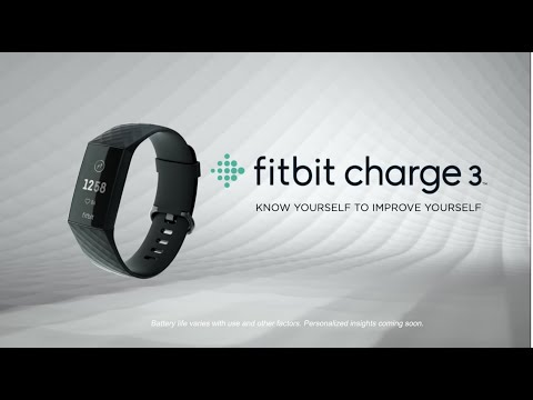 Introducing Fitbit Charge 3