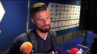 """France – Etats-Unis : """"Pas d'inquiétude"""" pour Giroud après sa blessure à la tête"""