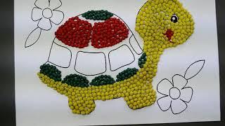 Урок с Пластилинкиным. Пластилиновая мозаика