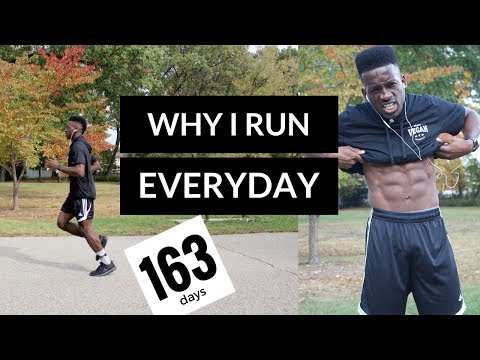 why I run everyday | running everyday for a year | train vegan