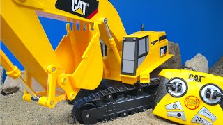 CAT MASSIVE MACHINE EXCAVATOR REMOTE CONTROL RC MIGHTY MACHINE & TRUCK TOYS FOR KIDS