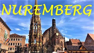 Walking tour of the city nuremberg / nürnberg in germany - explore old town with me! this video we take you through a fam...