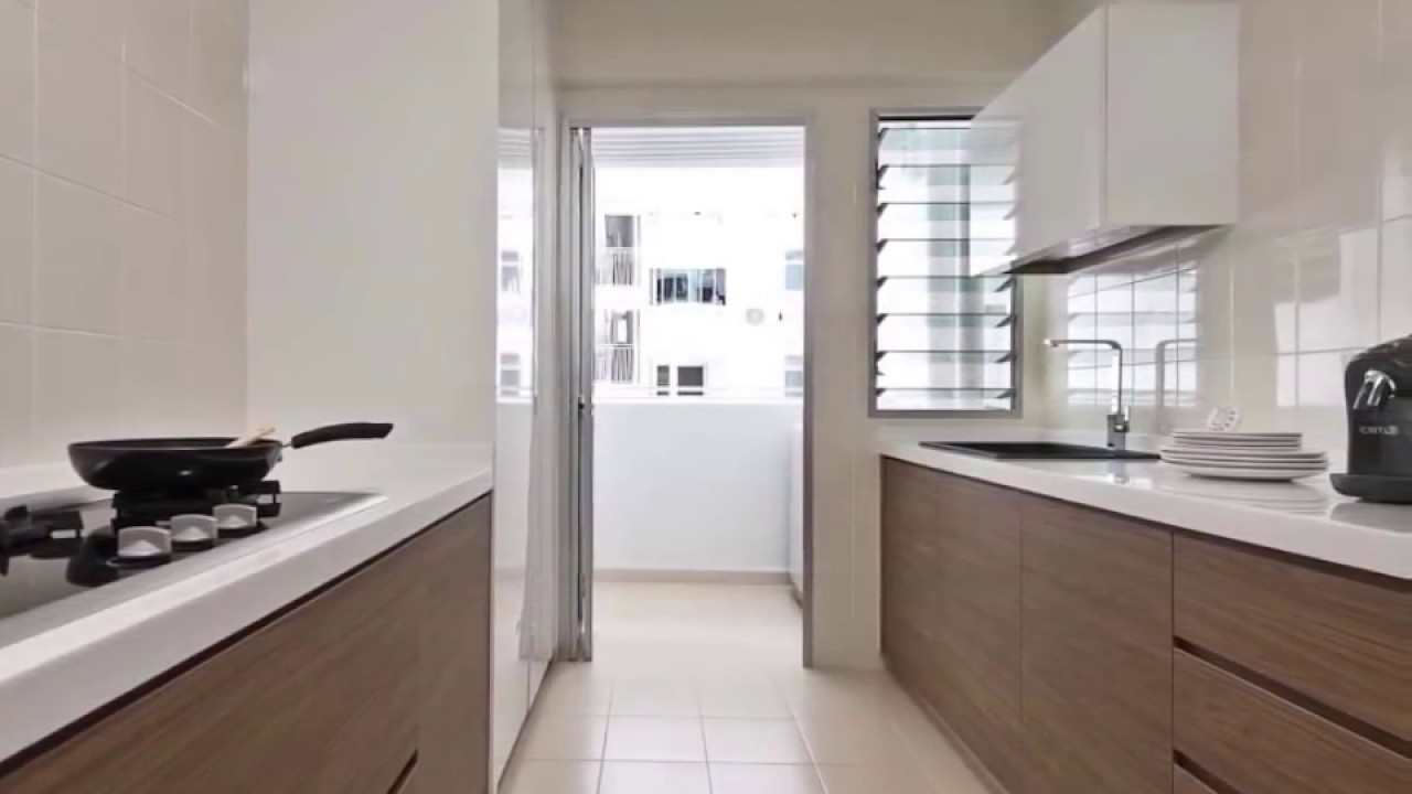Hdb kitchen part 2 youtube for Small bathroom ideas hdb