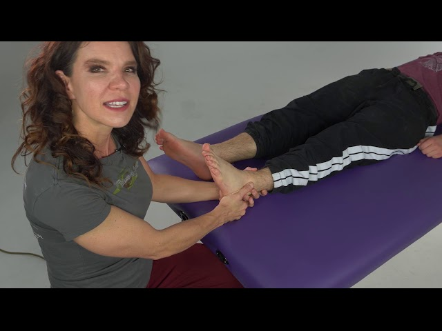 Massage Tutorial: Reflexology Warm Up Techniques Part I