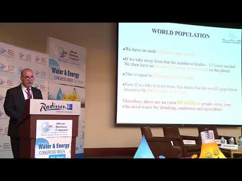 Prof. Nidal Hilal at the 3rd Annual Water & Energy Congress