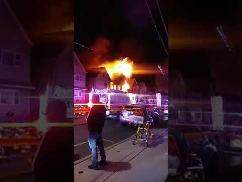 Photos Video Multi Alarm Fire Engulfs Garfield Homes Garfield Lodi Daily Voice