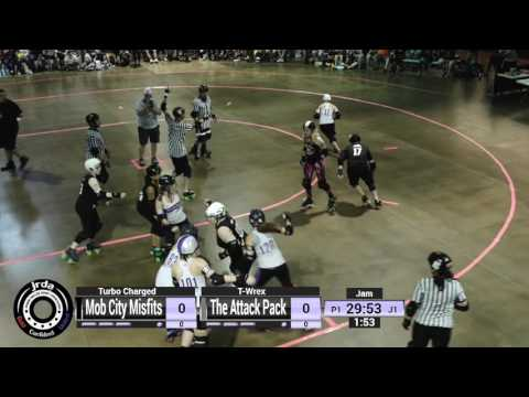 2017 JRDA Championships - Open Division, Game 11 - Mob City Misfits v The Attack Pack