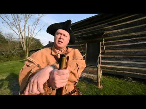 Gov. John Sevier re-enactor gives history lesson