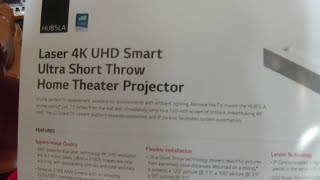 LG HU85LA 4K Ultra Short Throw Projector | Value Electronics